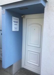 Vstup dvere